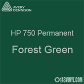 """Avery HP 750 - Forest Green- 12"""" x 5 Foot"""