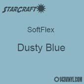 "12"" x 24"" Sheet -StarCraft SoftFlex HTV - Dusty Blue"
