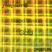 "12"" x 12"" Sheet - StarCraft Magic - Illusion Gold"