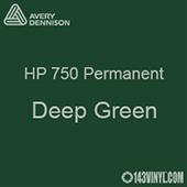 "Avery HP 750 - Deep Green- 12"" x 5 Foot"