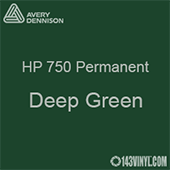 "Avery HP 750 - Deep Green- 12"" x 12"" Sheet"