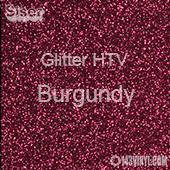 "Glitter HTV: 12"" x 20"" - Burgundy"