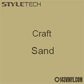 "Styletech Craft Vinyl - Sand- 12"" x 24"" Sheet"