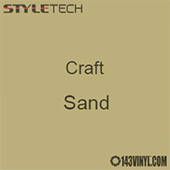 "Styletech Craft Vinyl - Sand- 12"" x 5 Foot"