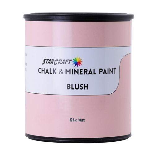 StarCraft Chalk & Mineral Paint - Quart, 32oz-Blush