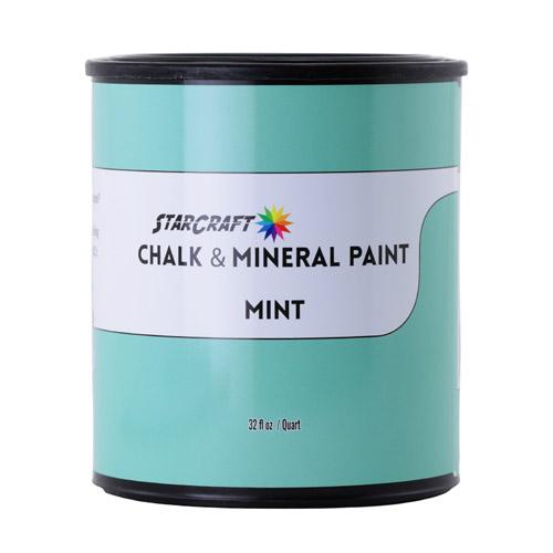 StarCraft Chalk & Mineral Paint - Quart, 32oz-Mint