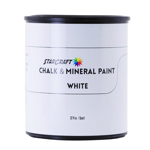StarCraft Chalk & Mineral Paint - Quart, 32oz-White