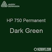 """Avery HP 750 - Dark Green- 12"""" x 24"""" Sheet"""