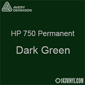 "Avery HP 750 - Dark Green- 12"" x 5 Foot"