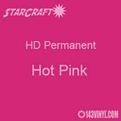 "12"" x 24"" Sheet - StarCraft HD Glossy Permanent Vinyl - Hot Pink"
