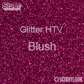 """Glitter HTV: 12"""" x 5 Yard Roll - Blush"""