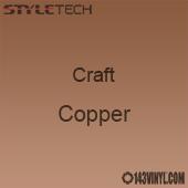 "Styletech Craft Vinyl - Copper- 12"" x 24"" Sheet"