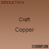 "Styletech Craft Vinyl - Copper- 12"" x 5 Foot"