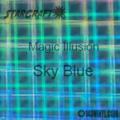 "12"" x 24"" Sheet - StarCraft Magic - Illusion Sky Blue"