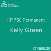 """Avery HP 750 - Kelly Green- 12"""" x 5 Foot"""