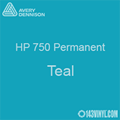 """Avery HP 750 - Teal- 12"""" x 5 Foot"""