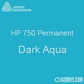 """Avery HP 750 - Dark Aqua- 12"""" x 5 Foot"""