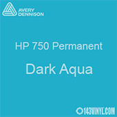 """Avery HP 750 - Dark Aqua- 12"""" x 12"""" Sheet"""