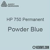 "Avery HP 750 - Powder Blue- 12"" x 5 Foot"