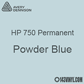 "Avery HP 750 - Powder Blue- 12"" x 12"" Sheet"
