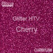 "Glitter HTV: 12"" x 5 Yard Roll - Cherry"