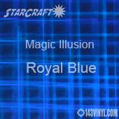 "12"" x 12"" Sheet - StarCraft Magic - Illusion Royal Blue"