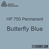 """Avery HP 750 - Butterfly Blue- 12"""" x 24"""" Sheet"""
