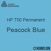 "Avery HP 750 - Peacock Blue- 12"" x 5 Foot"