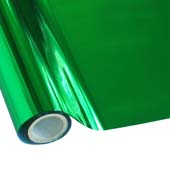 """25 Foot Roll of 12"""" StarCraft Electra Foil - Green"""