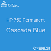 "Avery HP 750 - Cascade Blue- 12"" x 5 Foot"