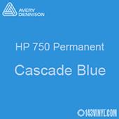 """Avery HP 750 - Cascade Blue- 12"""" x 12"""" Sheet"""