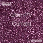 "Glitter HTV: 12"" x 5 Yard Roll - Currant"
