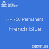"""Avery HP 750 - French Blue- 12"""" x 5 Foot"""