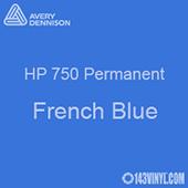 "Avery HP 750 - French Blue- 12"" x 12"" Sheet"