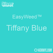 """EasyWeed HTV: 12"""" x 5 Foot - Tiffany Blue"""