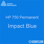 "Avery HP 750 - Impact Blue- 12"" x 5 Foot"