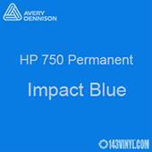 """Avery HP 750 - Impact Blue- 12"""" x 12"""" Sheet"""