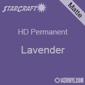 "12"" x 24"" Sheet - StarCraft HD Matte Permanent Vinyl - Lavender"