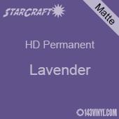 "12"" x 5' Roll - StarCraft HD Matte Permanent Vinyl - Lavender"