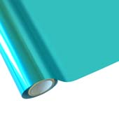 """25 Foot Roll of 12"""" StarCraft Electra Foil - Lagoon Blue"""