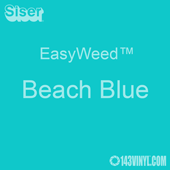 "EasyWeed HTV: 12"" x 5 Foot - Beach Blue"