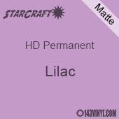 "12"" x 5' Roll - StarCraft HD Matte Permanent Vinyl - Lilac"