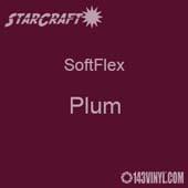"12"" x 5 Foot Roll -StarCraft SoftFlex HTV - Plum"