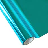 """25 Foot Roll of 12"""" StarCraft Electra Foil - Teal"""