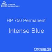 "Avery HP 750 - Intense Blue- 12"" x 12"" Sheet"