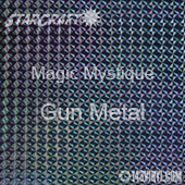 "12"" x 12"" Sheet - StarCraft Magic - Mystique Gun Metal"
