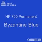 "Avery HP 750 - Byzantine Blue- 12"" x 5 Foot"