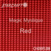 "12"" x 12"" Sheet - StarCraft Magic - Mystique Red"