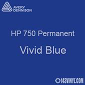 "Avery HP 750 - Vivid Blue- 12"" x 5 Foot"