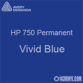 "Avery HP 750 - Vivid Blue- 12"" x 12"" Sheet"